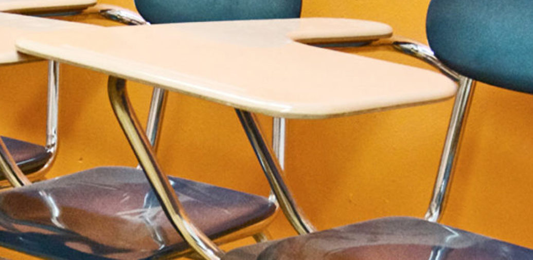 Despite cleaning, school desks are persistently gross