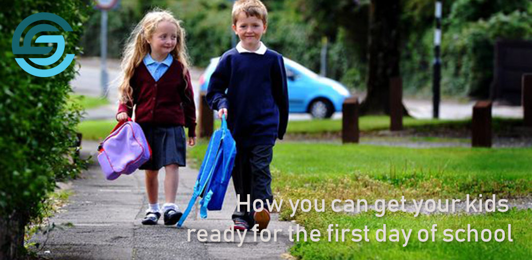 How you can get your kids ready for the first day of school