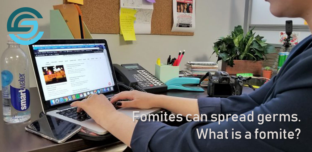 Fomites can spread germs. What is a fomite?