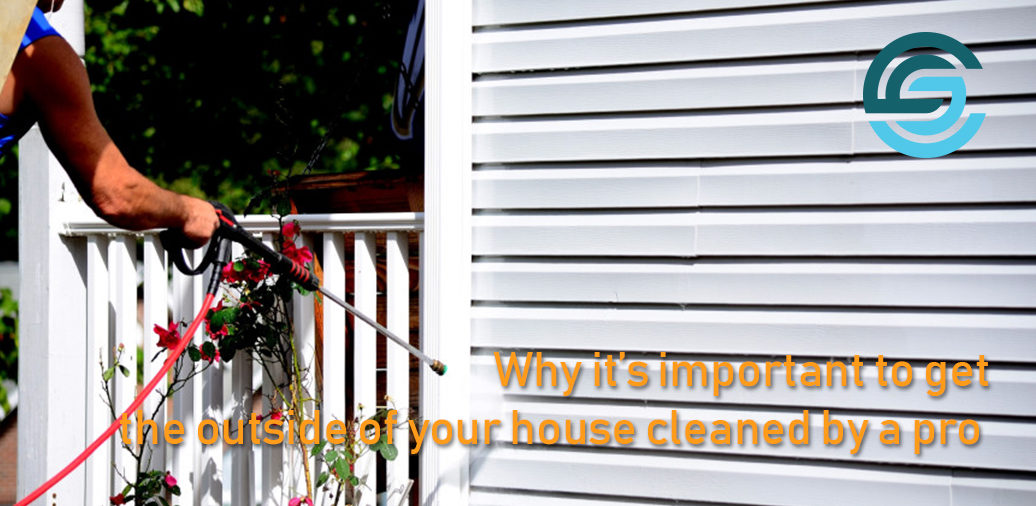 Why it's important to get the outside of your house cleaned by a pro