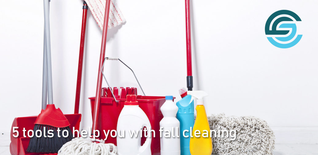 5 tools to help you with fall cleaning