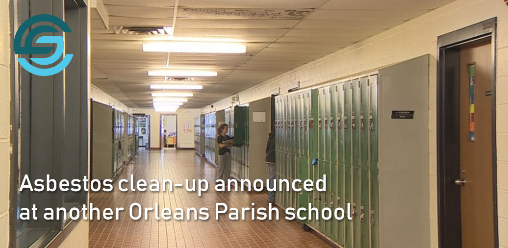 Asbestos clean-up announced at another Orleans Parish school