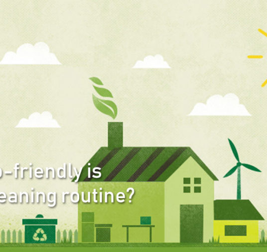 How eco-friendly is YOUR cleaning routine?