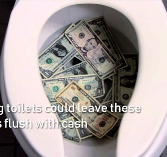 Cleaning toilets could leave these workers flush with cash