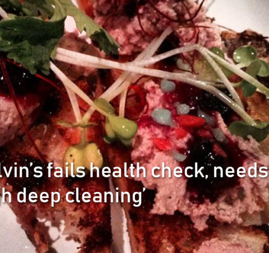 Poor Calvin's fails health check, needs a 'thorough deep cleaning'